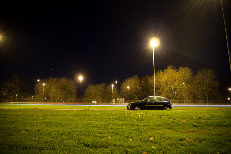 Rover 25 At Night