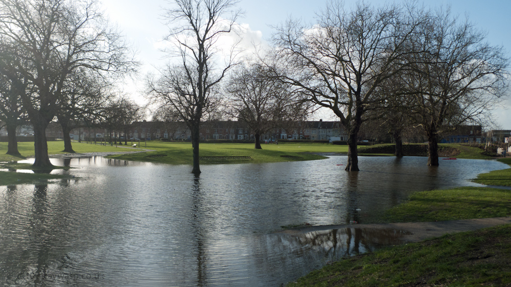Mountbatten Centre Lake