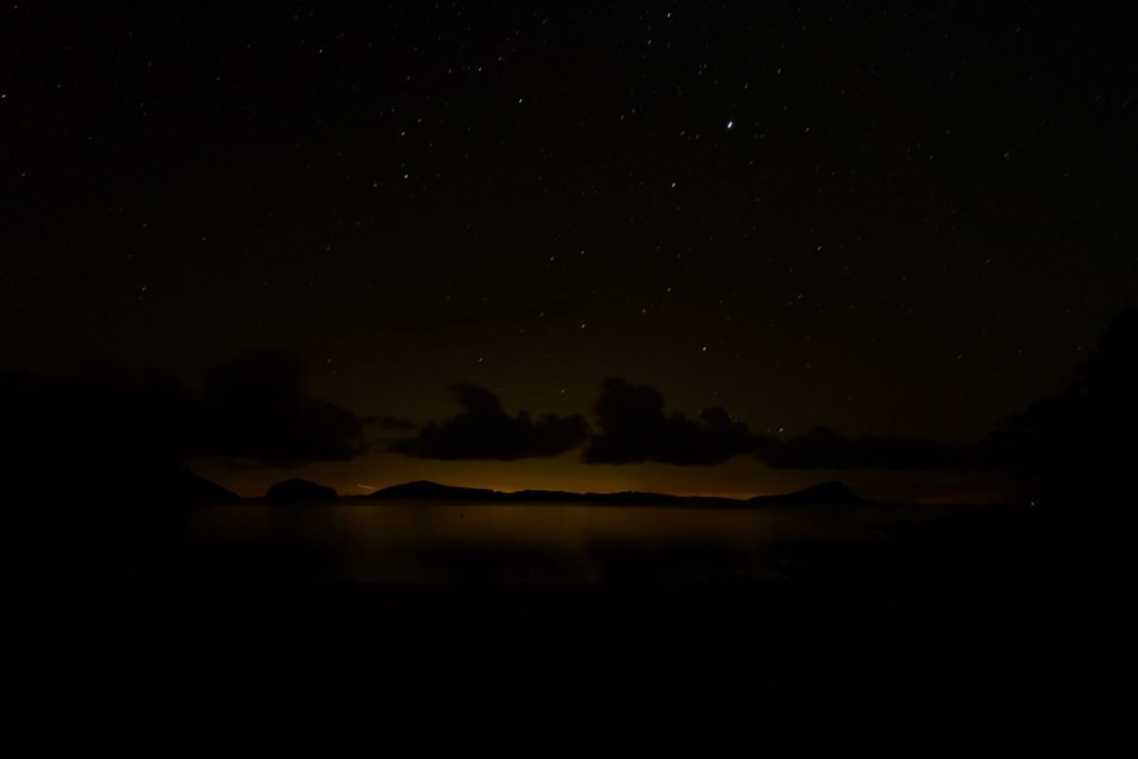 Long Bay Night - Coromandel, New Zealand