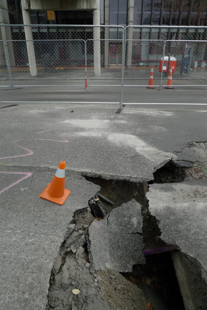 Tremor - Christchurch, New Zealand