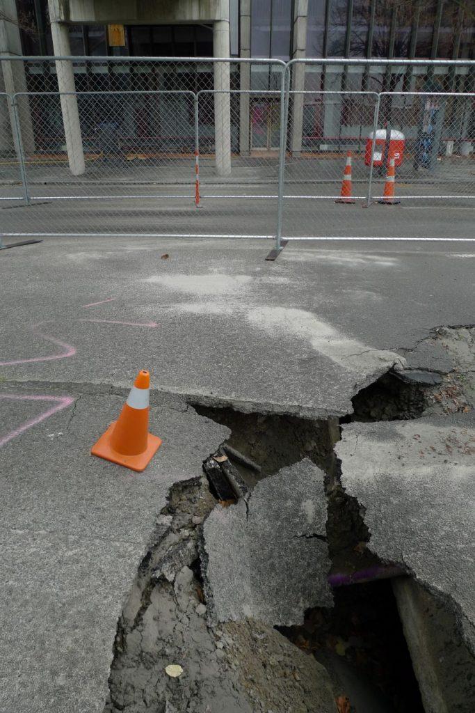 Tremor - Christchurch, New Zealand