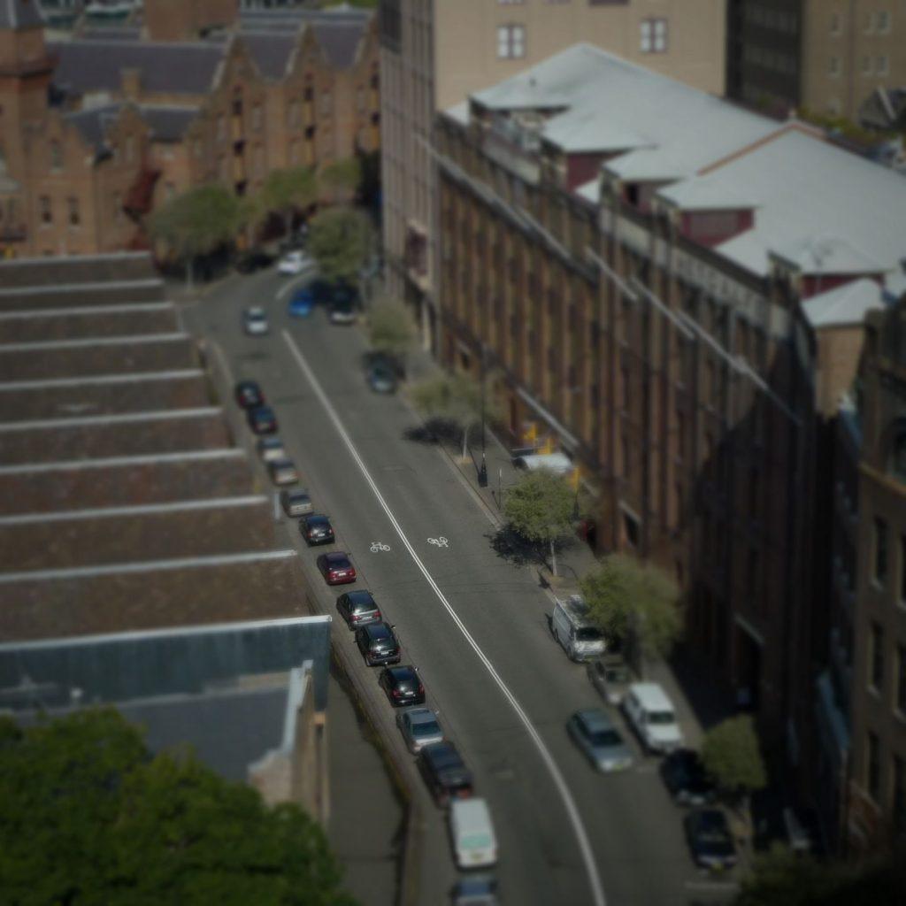 Toy Town - Sydney Tilt Shift